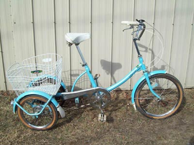 Sears Shop Mate tricycle for adult